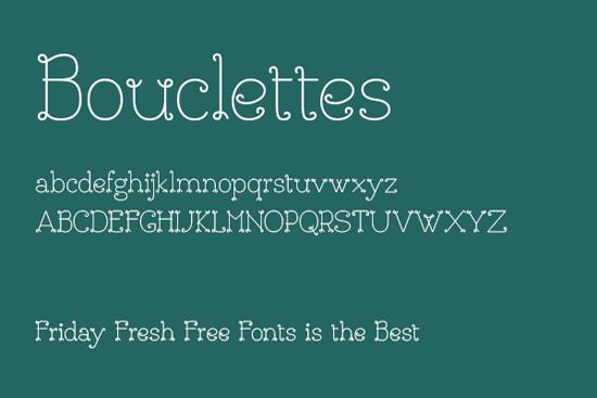 Bouclettes