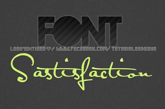 Font Satisfaction