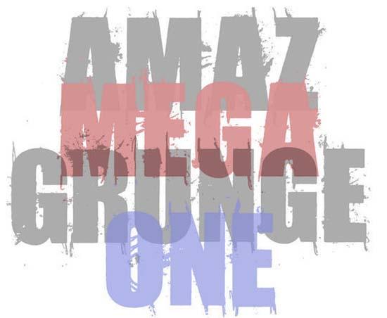 Amaz Mega Grunge One