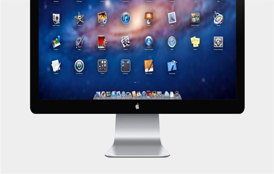 Apple 27in LED Cinema Display (PSD)