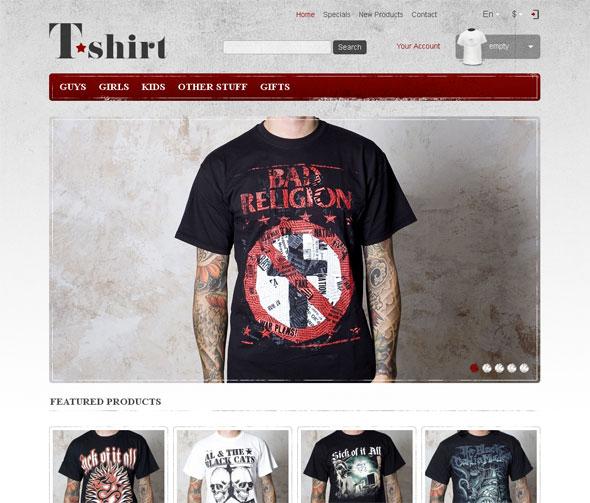 Online store. Responsive Prestashop theme