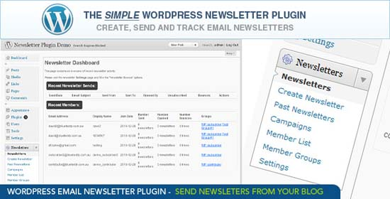 1-WordPress Email Newsletter Plugin