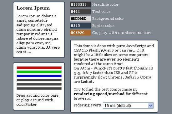 JavaScript ColorPicker