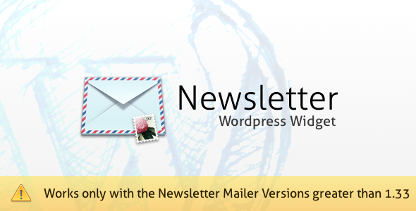 3-Newsletter Mailer WordPress