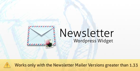 3-Newsletter Mailer WordPress