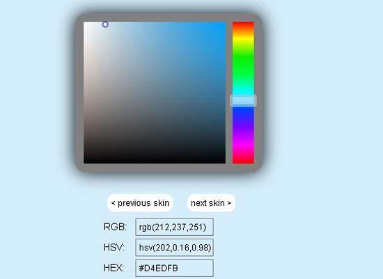 Photoshop Like Javascript Color Picker John Dyers Code 10 Best Javascript Color Pickers Plugins