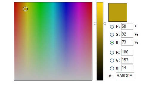 JavaScript Color Picker
