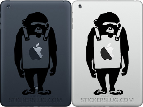 Banksy Monkey Wearing Sign Apple US $9.99