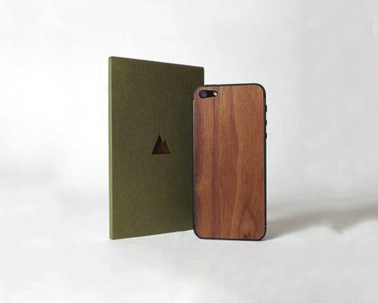Real Wood Skin For iPhone 5 By Monolith