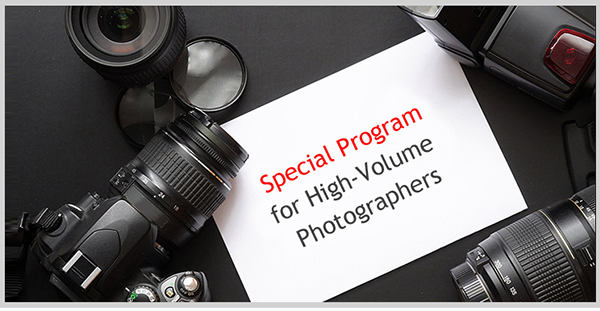 Special Program for Contributors with Large Portfolios