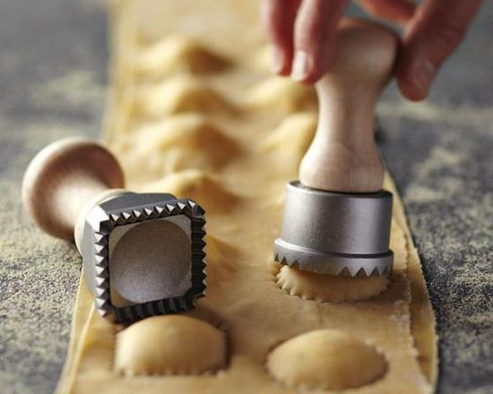 Spring Loaded Ravioli Stamps