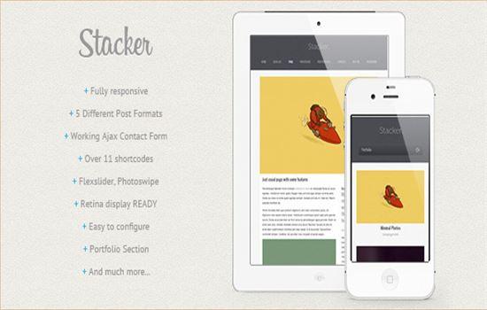 Stacker Responsive WP Theme