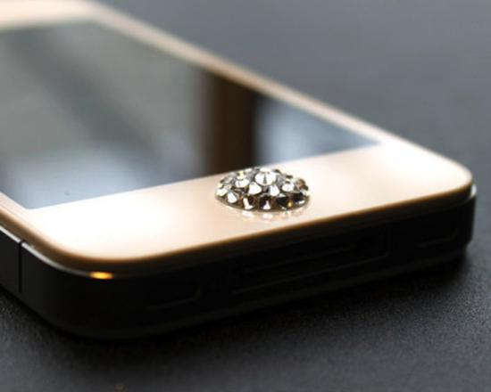 Swarovski Home Button For iPhone