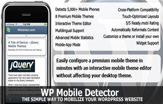 WP Mobile Detector