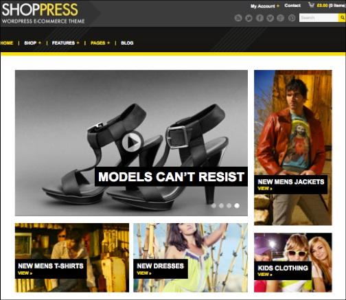 WordPresseCommerceThemes 11 40 Adet WordPress E Ticaret Teması