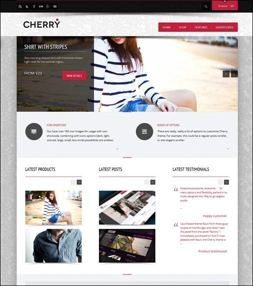 WordPresseCommerceThemes 12 40 Adet WordPress E Ticaret Teması