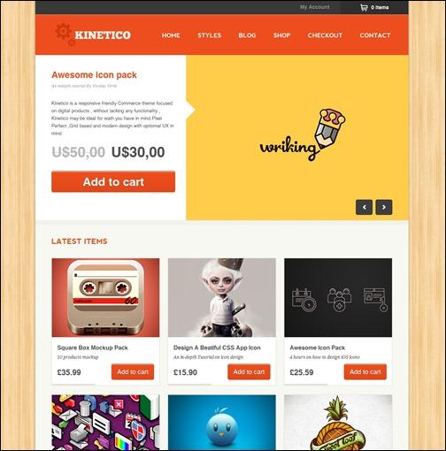 WordPresseCommerceThemes 17 40 Adet WordPress E Ticaret Teması