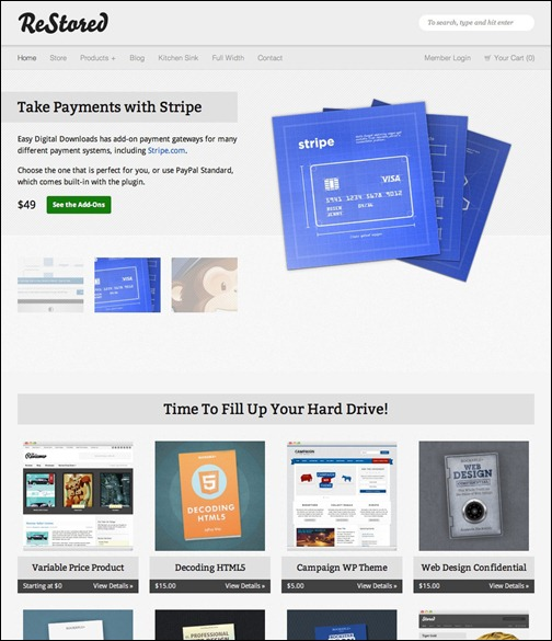 WordPresseCommerceThemes 19 40 Adet WordPress E Ticaret Teması