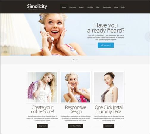 WordPresseCommerceThemes 2 40 Adet WordPress E Ticaret Teması
