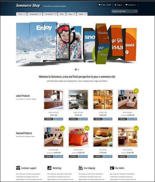 WordPresseCommerceThemes 21 40 Adet WordPress E Ticaret Teması