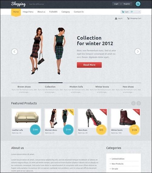 WordPresseCommerceThemes 23 40 Adet WordPress E Ticaret Teması