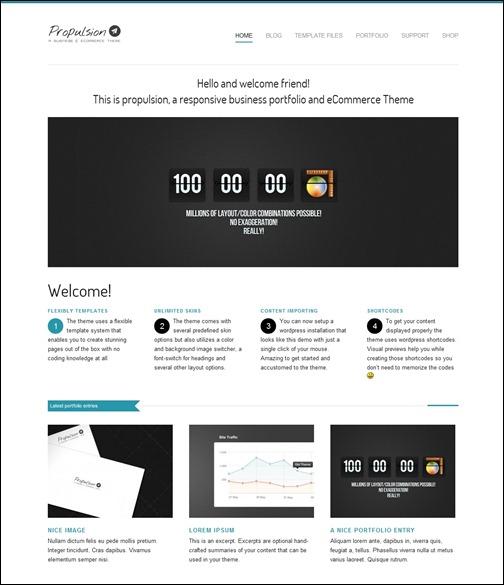 WordPresseCommerceThemes 24 40 Adet WordPress E Ticaret Teması