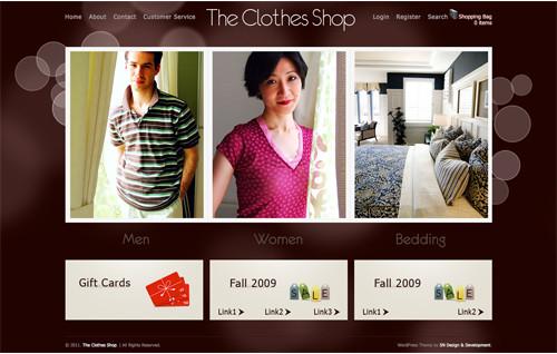 WordPresseCommerceThemes 28 40 Adet WordPress E Ticaret Teması