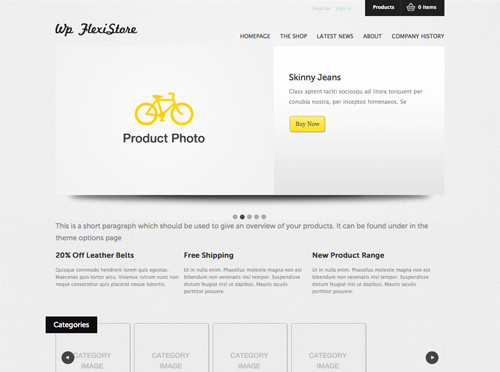 WordPresseCommerceThemes 29 40 Adet WordPress E Ticaret Teması