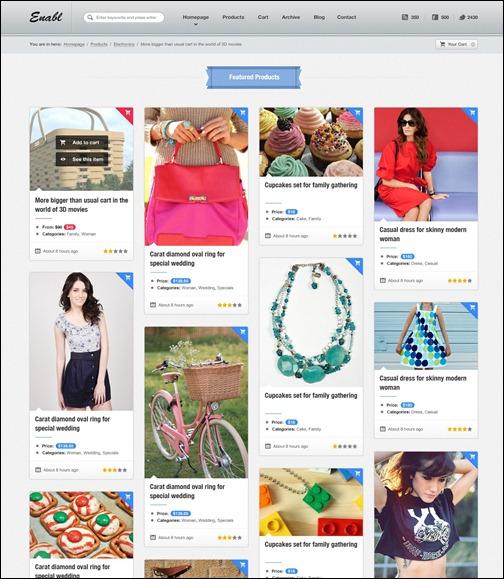 WordPresseCommerceThemes 3 40 Adet WordPress E Ticaret Teması