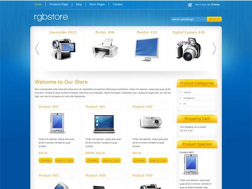 WordPresseCommerceThemes 30 40 Adet WordPress E Ticaret Teması