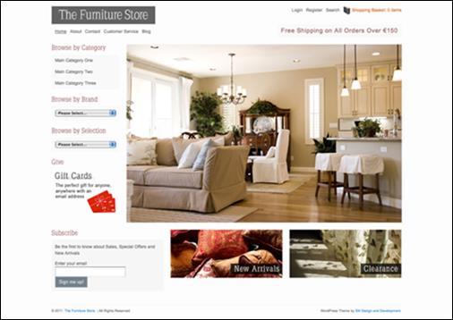 WordPresseCommerceThemes 32 40 Adet WordPress E Ticaret Teması