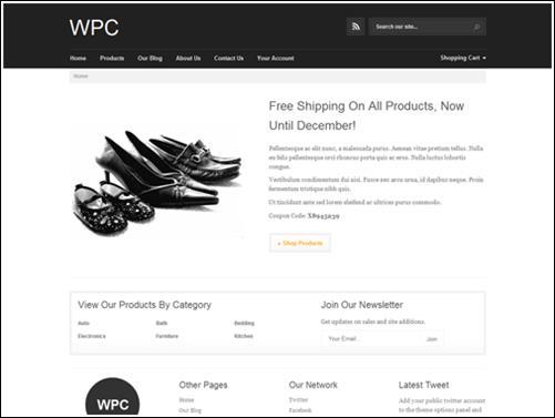WordPresseCommerceThemes 33 40 Adet WordPress E Ticaret Teması