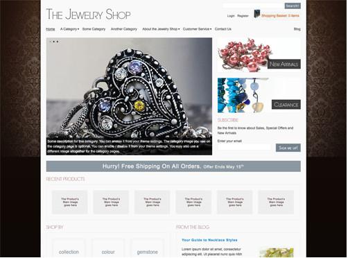 WordPresseCommerceThemes 35 40 Adet WordPress E Ticaret Teması