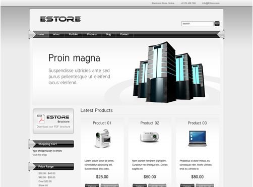 WordPresseCommerceThemes 36 40 Adet WordPress E Ticaret Teması