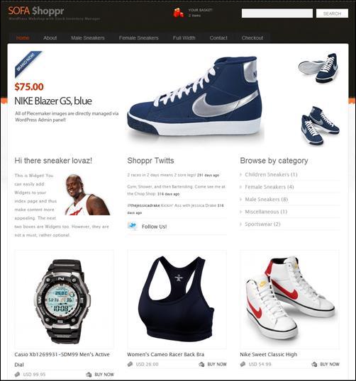 WordPresseCommerceThemes 37 40 Adet WordPress E Ticaret Teması