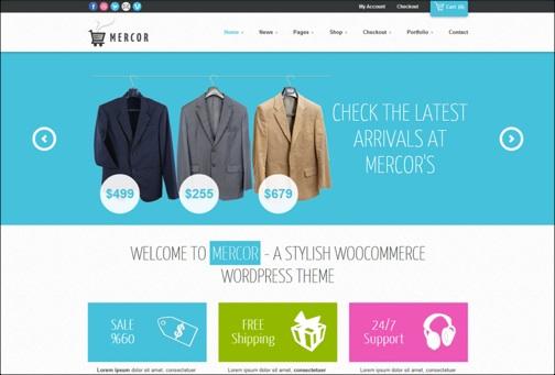 WordPresseCommerceThemes 9 40 Adet WordPress E Ticaret Teması