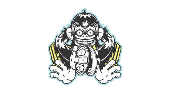 Mad Monkey Logo Mad Cymbal Monkey Best Logos