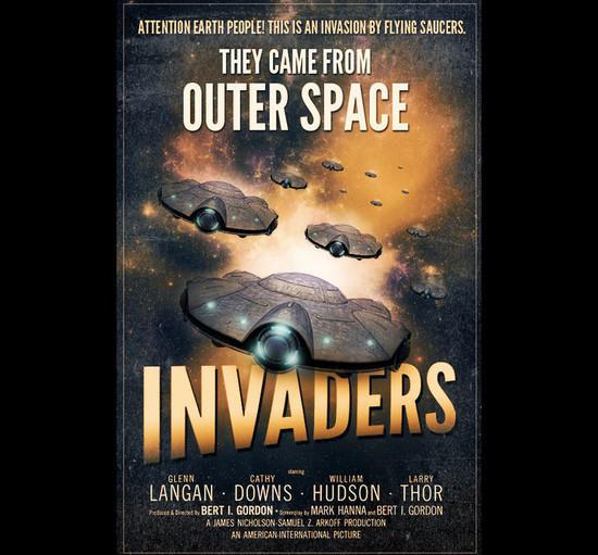 Design a Retro Inspired Sci-Fi Film Poster