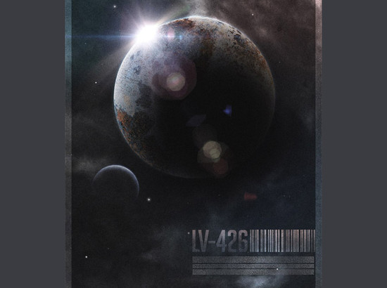 Create a Retro-Futuristic Space Poster in Photoshop