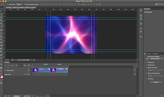 Creating 3D Animation in Photoshop CS6