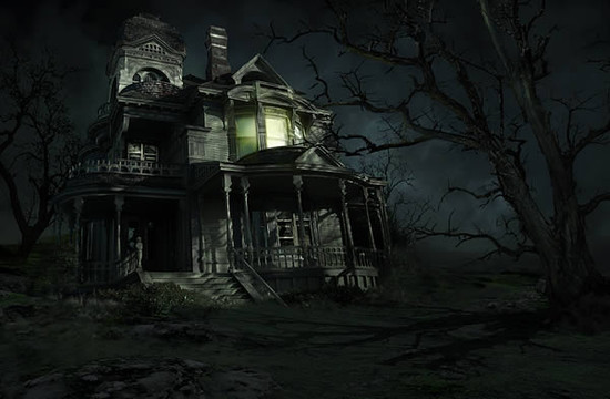 Create a Sinister Haunted House in Photoshop
