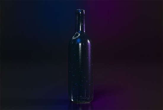 Create a 3D Wine Advertisement
