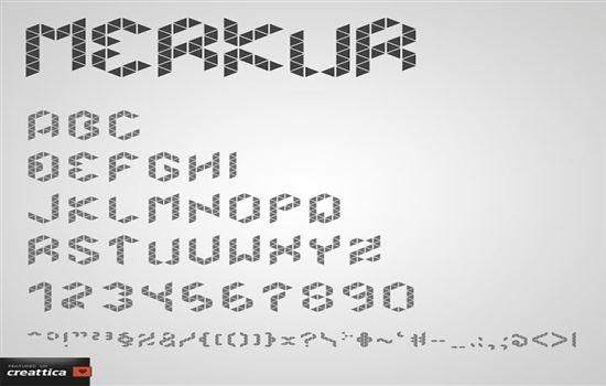Free Grid Fonts