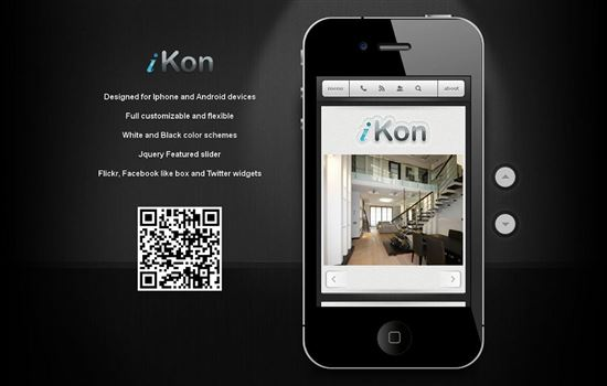 iKon WP Mobile Theme