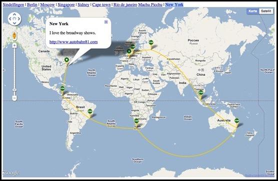 Travel map pro