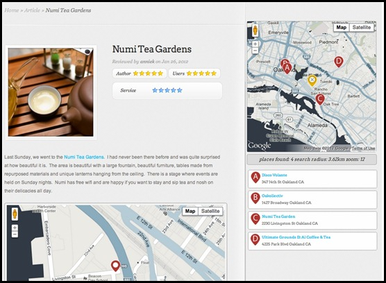 Map Widgets for jQuery