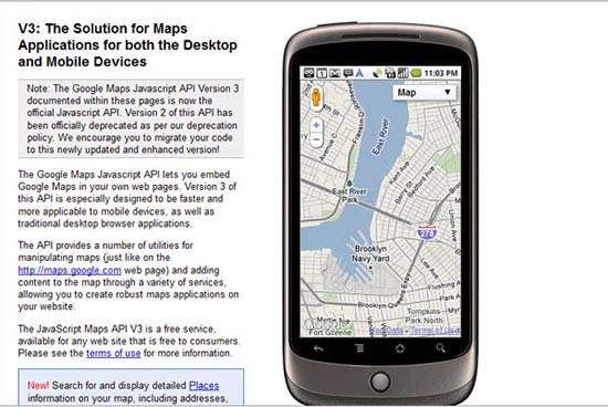 Google Maps JavaScript API V3