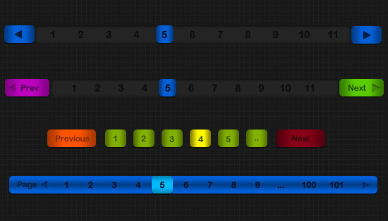 Pagination PSD - Friday Freebie