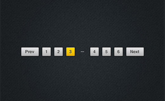 Pagination – PSD