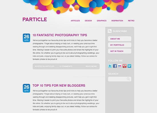 Coding Up a Web Design Concept into HTML & CSS